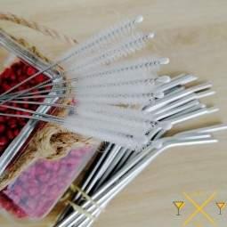 pailleinox.fr : lot de 10 goupillons pour vos pailles en inox