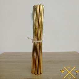 Pailleinox.fr un large choix de pailles en inox avec ces pailles pour milkshakes