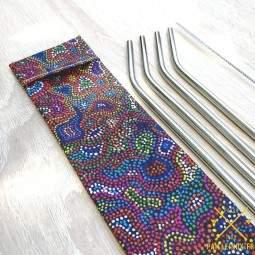 Pochette fabriquée en France - Aborigène