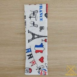 Pochette motif Paris made in France