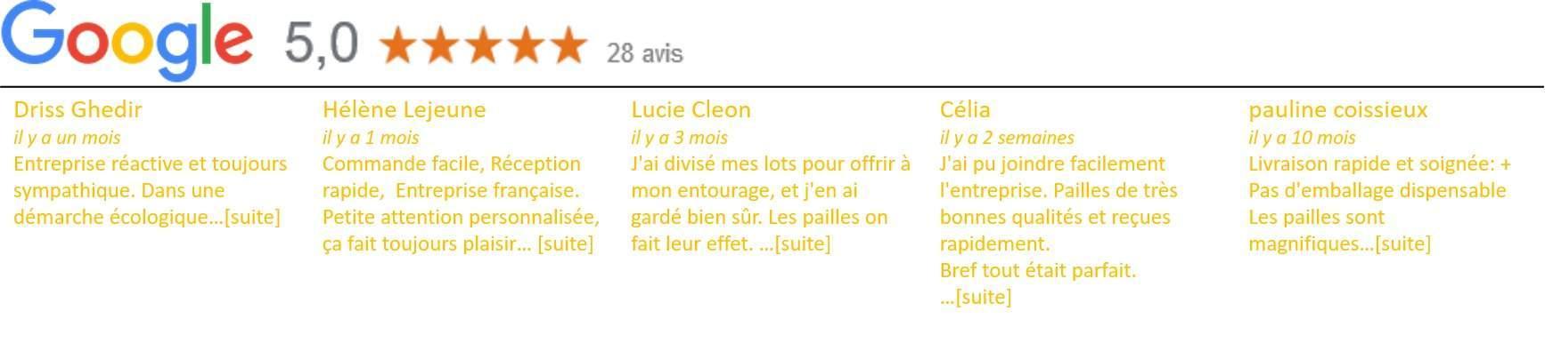 Spécialiste français de la vente de paille inox en lot
